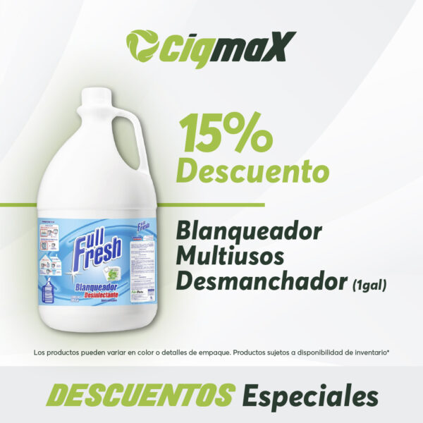 Promo Blanqueador Full Fresh